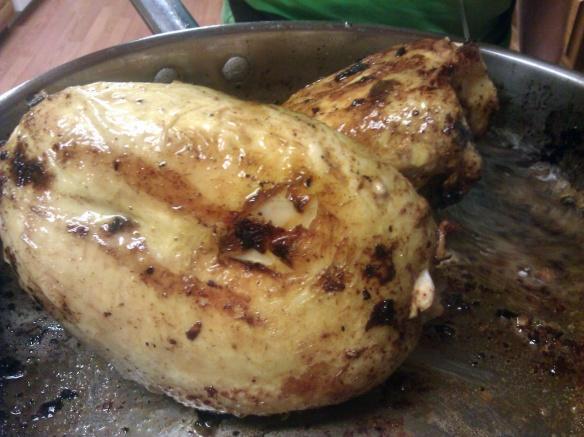 broiled garlic chicken