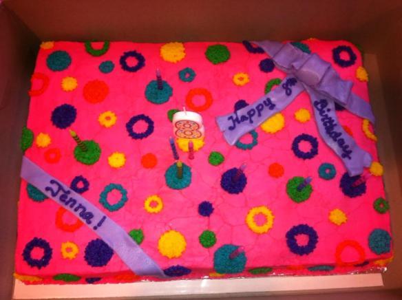 Jennas Bday cake