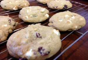 Cranberry Almond Cookies (2)