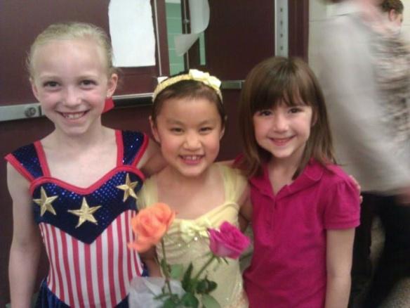 Danika, Jenna and Sophia