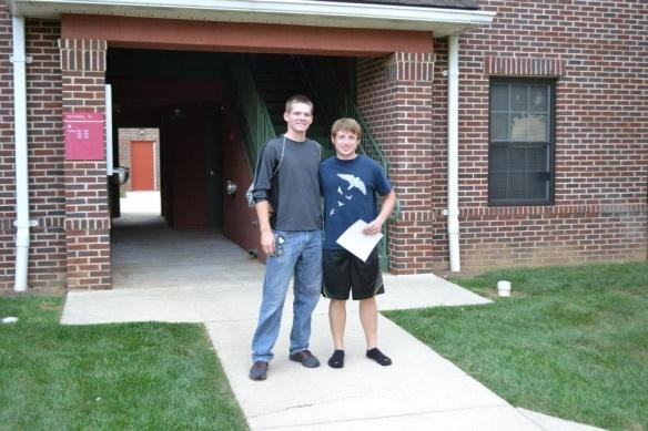 Garrett and Tyler