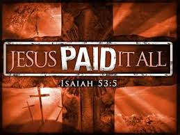Jesus Paid It