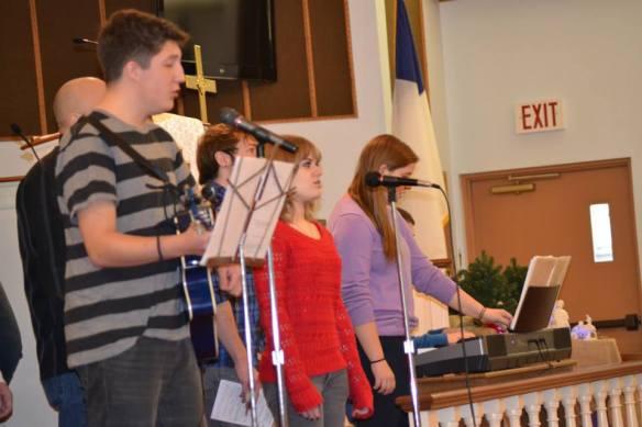 Praise band worship